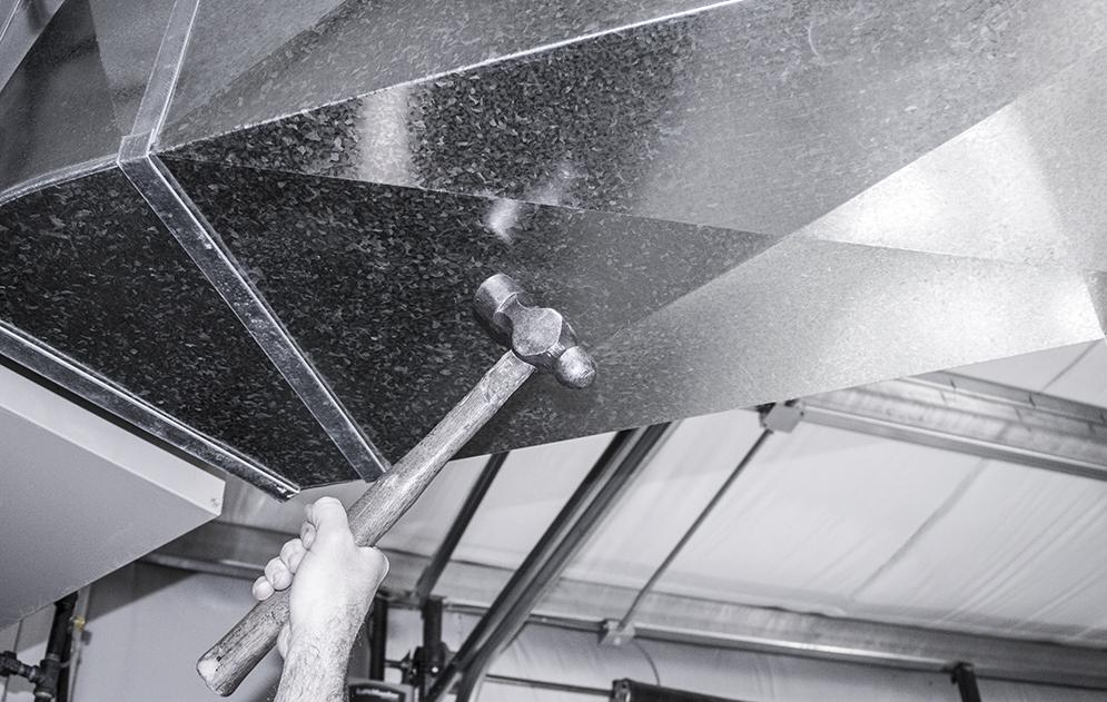 hammer-duct-cleaning-method