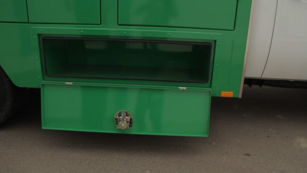 Green Truck Complete Underbody Storage Boxes